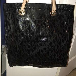 Black MK purse